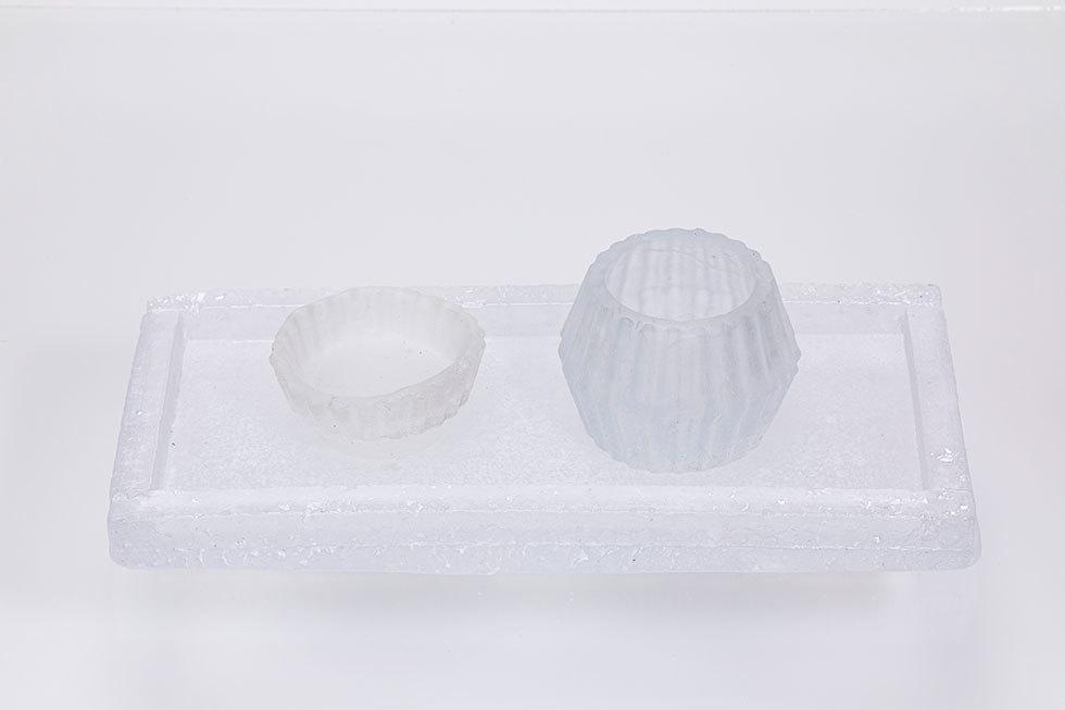 sugar pot / ICE ICE tray