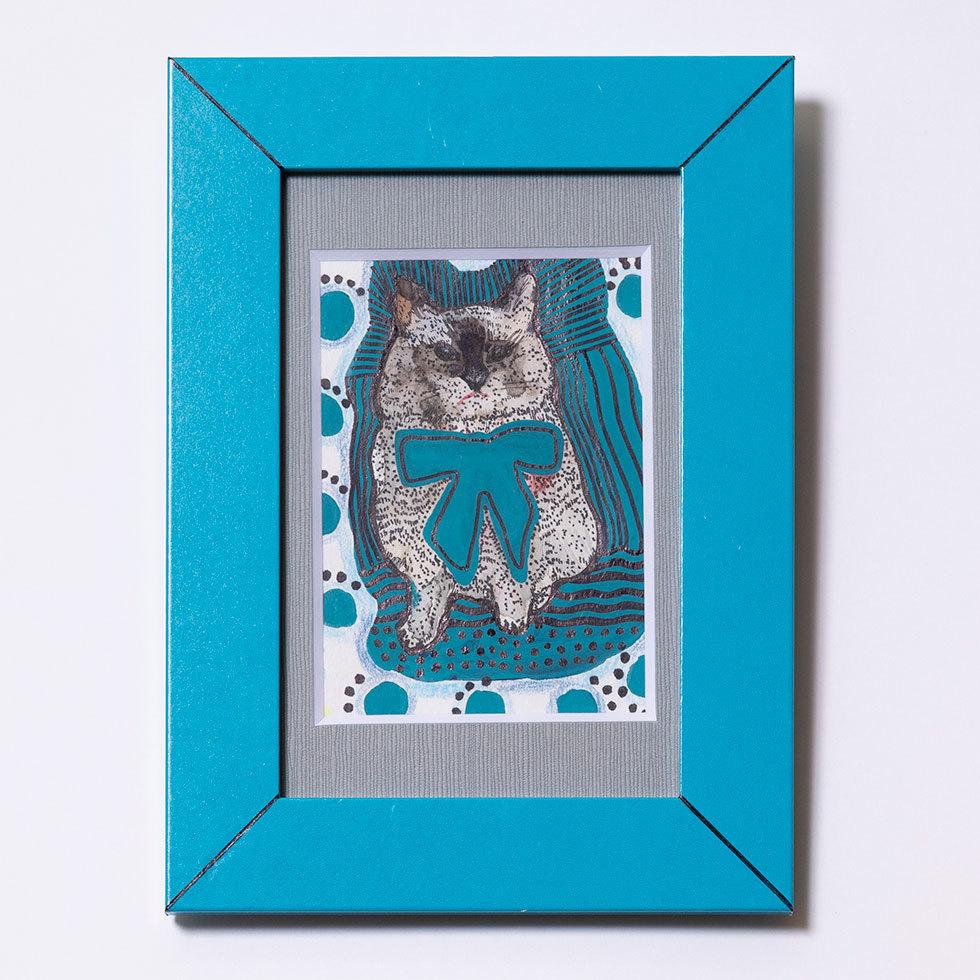 青が好きな猫娘