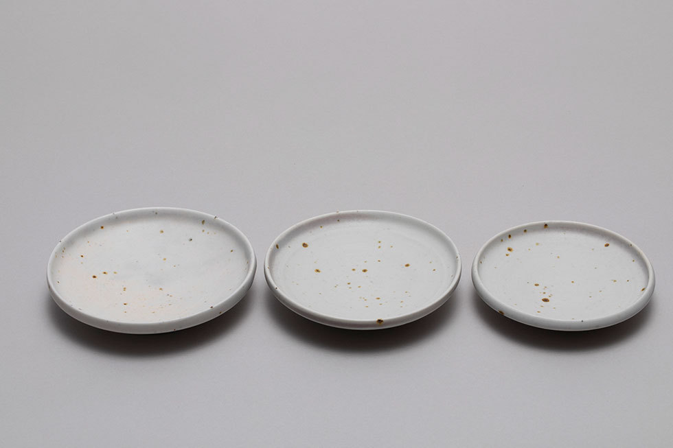 斑点小皿 ( 3点1組)