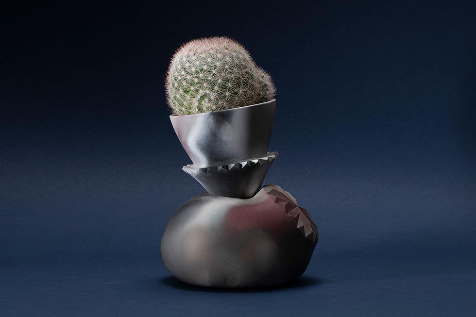 facet pot(桜月)