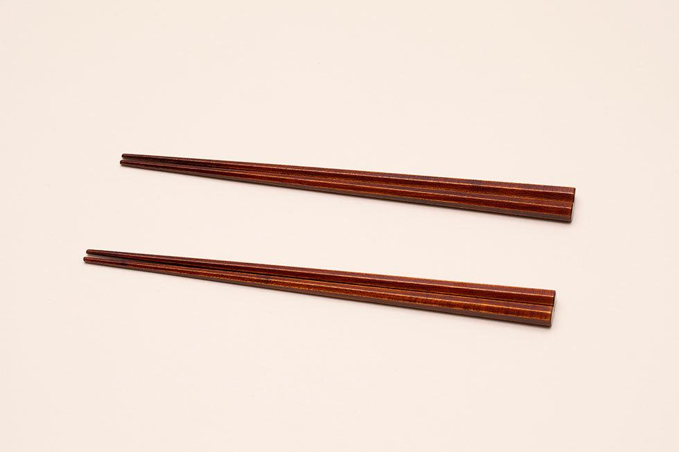 摺漆のお箸