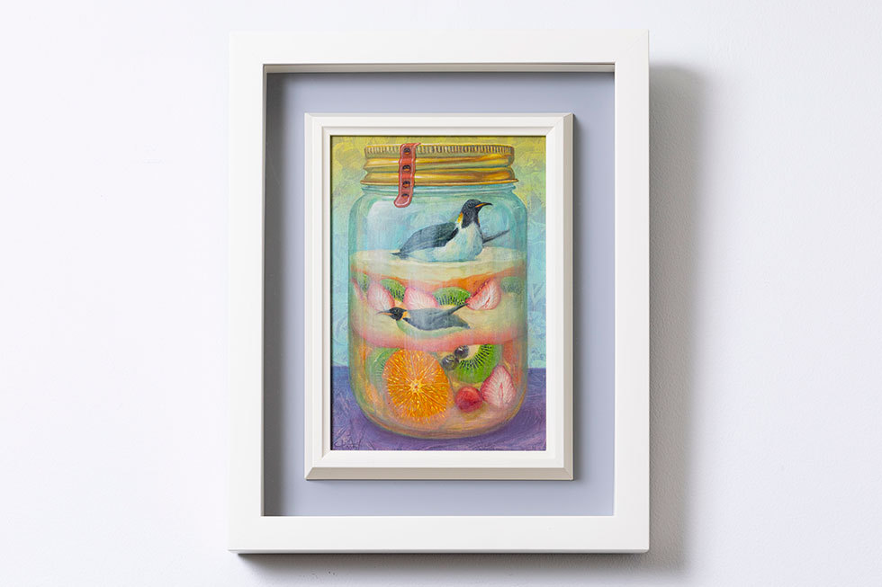 A fruit jelly souvenir