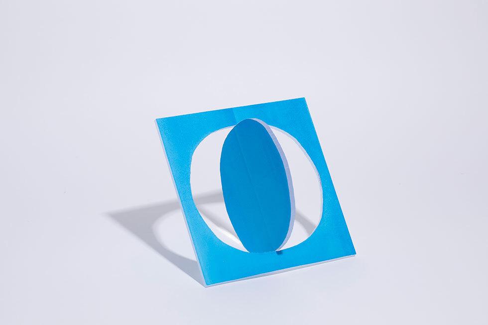 cut out shapes(blue)