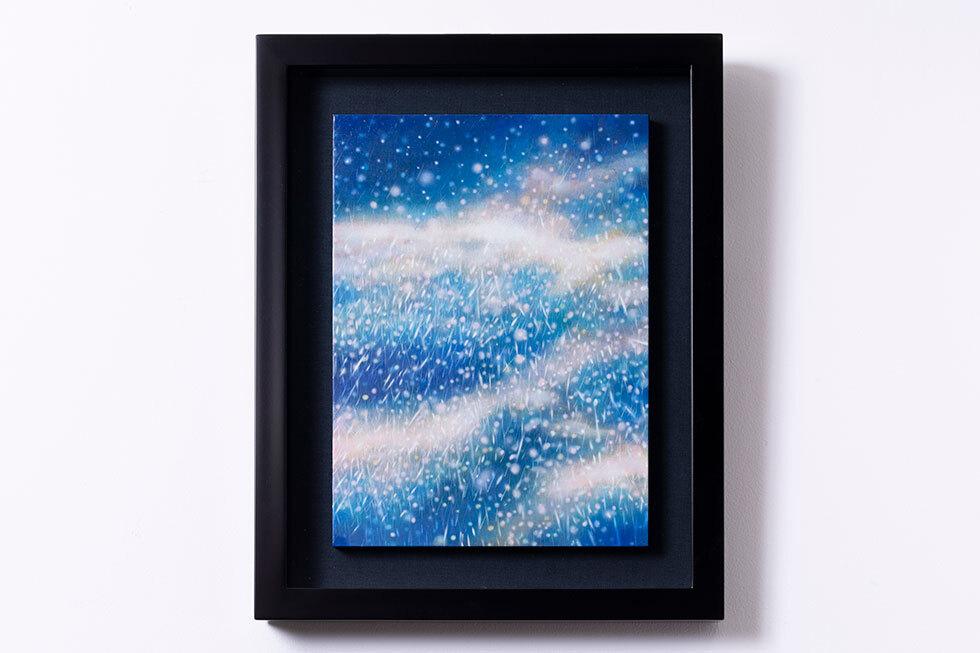 宙の向こうから-雨と流星-
