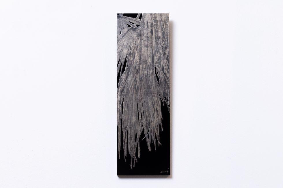 蒔絵パネル「棕櫚」3