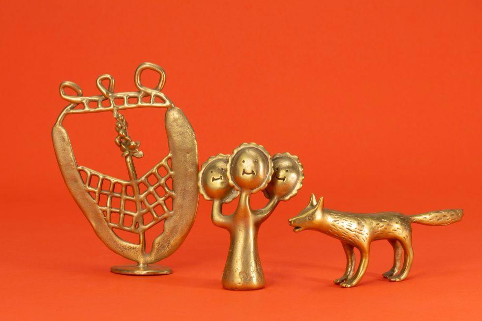 左から: ハナ / 3つのハナ / ニホンオオカミ