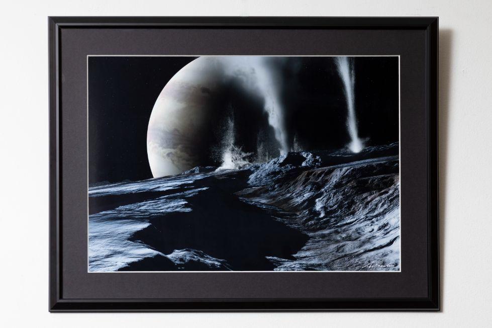 木星と衛生エウロパの間欠泉