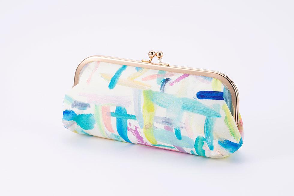 メガネケース/ポケットプラス<br>※桂川美帆がデザインした、藝大アートプラザ・ユニフォームの布地を使用。