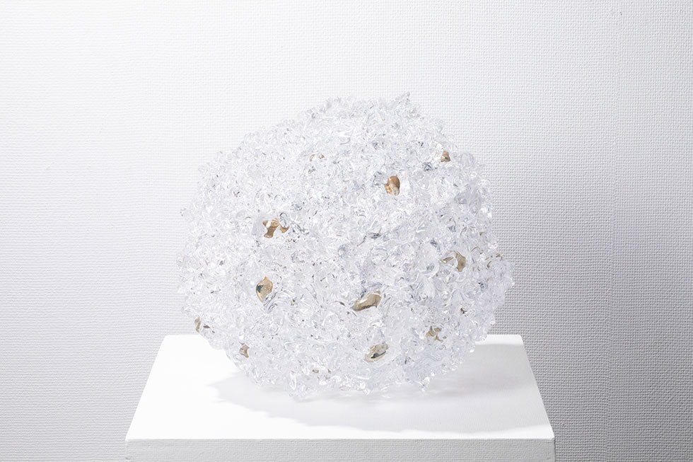 地村洋平「始まりの実験《歪球型》(超特大)」