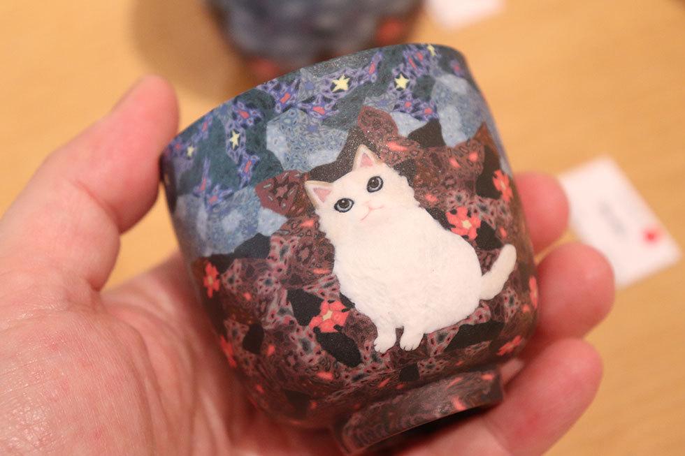 小林佐和子「月夜の猫」